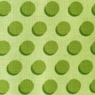 Cotton Fabric - Polka Dots by Holy Holderman - Green