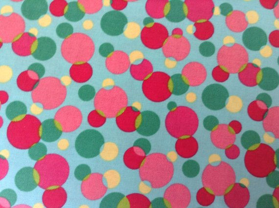 Cotton Fabric - Dots Multi colors
