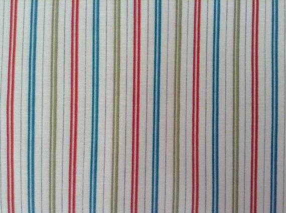 Cotton Fabric - Kensington Studio - Stripes - Multi colors