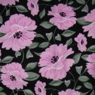 Fabric - Jardine by BJ Lantz - PATT 22070J - Black - Flowers