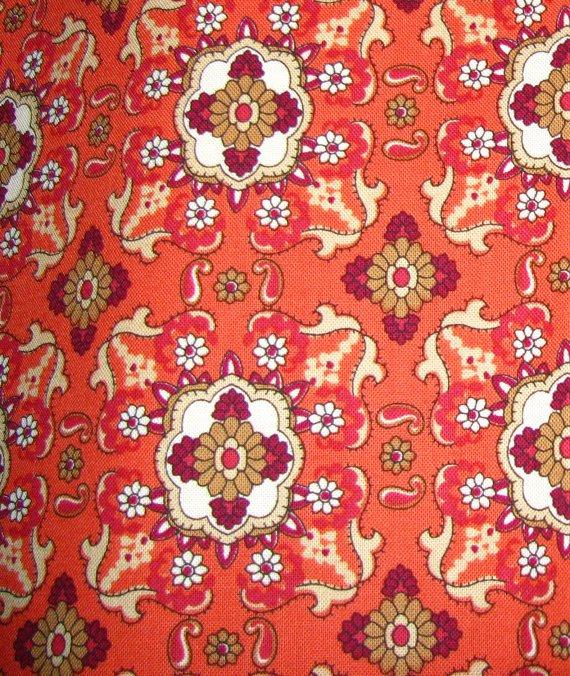 Fabric - Kensington Studio - Sienna - PATT 21933O - Burnt Orange
