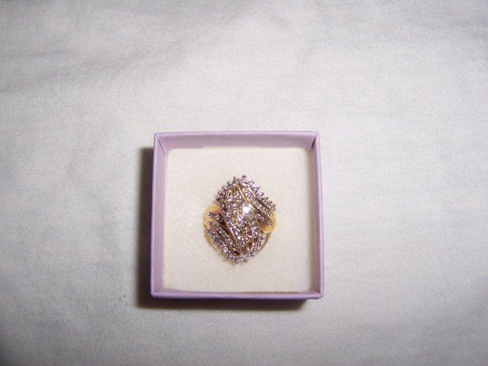 10kt diamond ring