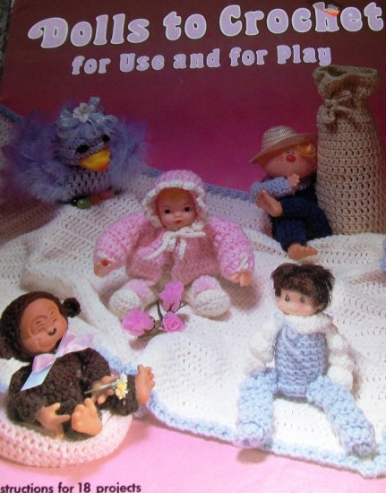crochet Doll Toys Pattern Dolls to Crochet for Use and For Play Santa doll Doll Babies Easter chicks