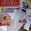 McCalls Crochet Patterns June '93 18 Summertime Designs, Dress Teddy Bear in Sailor Outfit
