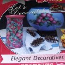 Decoupage Under Glass Elegant Decoratives pattern with over 20 project ideas