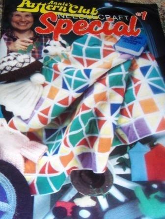 Annie's Pattern Club Needlecraft Special #1 Cowboy Hat Bacon Eggs Crochet  Plastic Canvas