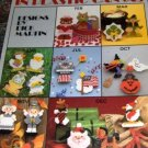 Plastic Canvas Refridgerator Holiday Magnets  Leisure Arts - Features Christmas and other holidays