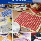 Annie's Attic Crochenit Easy Place Mats & Trivets Pattern