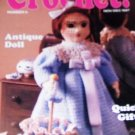 Hooked On Crochet No. 6 with 20  projects, Afghan, Doll, Quick GIfts and more!