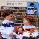 Cabbage Patch Sweaters Pattern to knit or crochet for Toddler Child and Cabbage Patch doll
