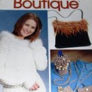 Crochet Boutique, a potpourri of patterns for purses, hats, scarves, slippers from Annie's Attic