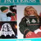 Herrschners Issue November  December 1988 Crochet Patterns for Afghans, Cap, MIttens, and more!