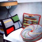 Crocheted Pillows, Rug Afghan STAR HOME BOOK 108