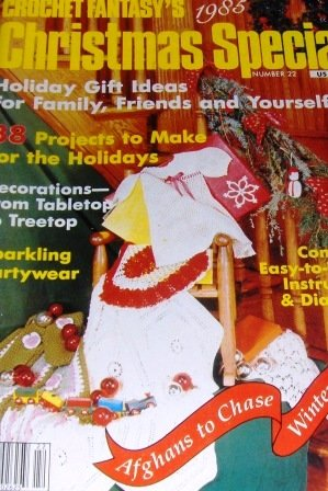 Christmas Crochet Patterns Crochet Fantasy, Poinsetta Afghan, Thread Crochet ornaments, Pot Holders