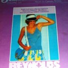 Reynolds Summertime Crochet Bikini Knitting Pattern Summer Tops Sleeveless Shirt Cardigan