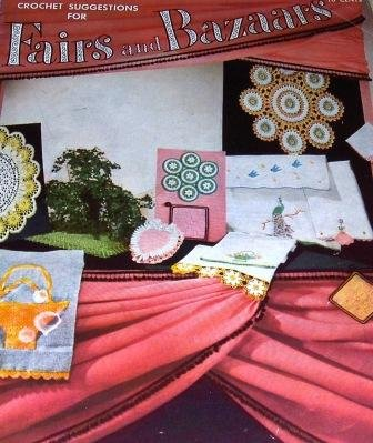 Fairs Bazaars Vintage thread Crochet Pattern Gifts Southern Belle Applique Doilies