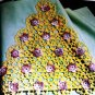 Pillow Cases Edgings Vintage thread Crochet Pattern Southern Bell Orchid Rose Flower Patterns