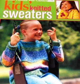 Childrens Sweaters Knitting Patterns Better Homes and Garden Kids Knitted Sweaters
