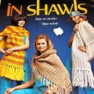Shawls Wraps Retro Crochet and Knitting Pattern  Columbia Minerva