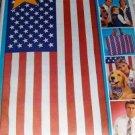 American Flag McCalls Sewing Pattern 3562 Patriotic vest bandanna scarf totebag necktie