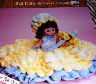 Bed Dolls Dumplin Designs Southern Bell Pillow Doll Claire Crochet Pattern