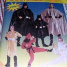 McCall's 2336 Halloween Costume Super Heroes costumes for child size 2,3 Ninjas, spacemen, batman