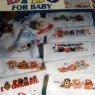 Bibs for Baby Cross Stitch Pattern 27 BABY  Bib Designs Leisure Arts