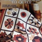 Quilting Teach yourself to Quilt Leisure Arts Step-by-Step Instructions traditional patterns