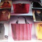Bag Purse Drawstring  Pattern McCall's Fashion Accessories Sewing Pattern 3772 UNCUT