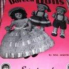Vintage Doll Pattern 1951 Doreen Dolls Volume 102 Baby Dolls, Bride Dolls and Southern Bells
