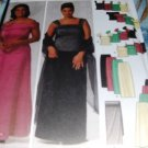 Evening 2 Piece Gown Sewing Pattern for Queen Sizes 26 to 32 Simplicity 5924 Mother of the Bride