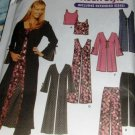 Teen Rock Style Vest Coat Pants Top Simplicity 7184 Sizes 17/18 to 23/24