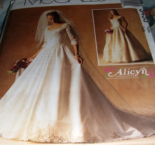 Bridal Gown and bridesmaid gown McCall's 3455 Size 18, 20, 22