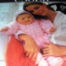Unger Baby Pattern to knit and crochet Layette, afghan, booties, dress, bunting