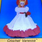 Crochet gown 15 inch Doll Vanessa TD Creations Collectable Doll Series PRE-747 Southern Bell Doll