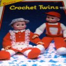 Baby Doll Darice Dolls Crochet Twins Boy and GIrl Dolls Crochet Pattern