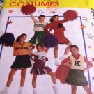 Child Teen Cheerleading Uniform McCall's Costumes 2849 Size 7 Sewing Pattern Cheer for your team!