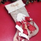 Father Christmas Stocking Sewing Pattern The Buckeye Tree  designed by Suzi McCracken