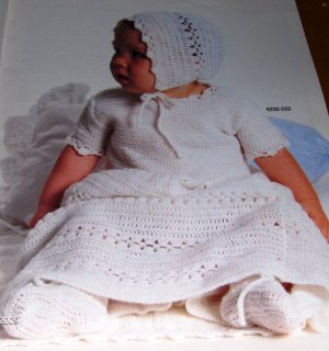 Crochet baby dress pattern in Arts & Crafts Supplies at Bizrate