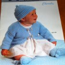 Baby Cherubs Bernat Infant crochet and Knitting Patterns Includes Christening gown crochet pattern