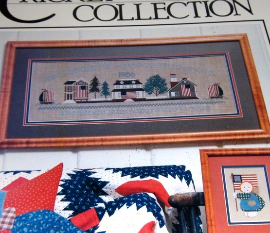 Cross Stitch Pattern The Cricket Collection No. 25 From Sea to Shining Sea