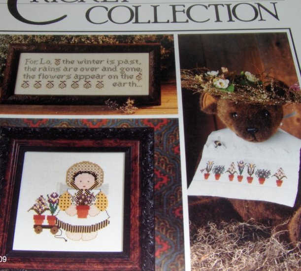 Cross Stitch Pattern The Cricket Collection No.52  The Winter is Past