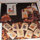 Trick or Treat bags Halloween Cross stitch Pattern Season's Greetings Dearie Sugarplum Express
