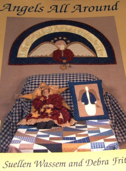 Angel Quilts Angel Dolls Angels All Around Quilting patterns for guardian angels.