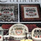 Cross Stitch Pattern Home is Where Heart Is Cricket Collection No. 105 Home Sweet Home