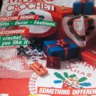 Magic Crochet Pattern Magazine Number 51 December 1987 Christmas doilies gifts