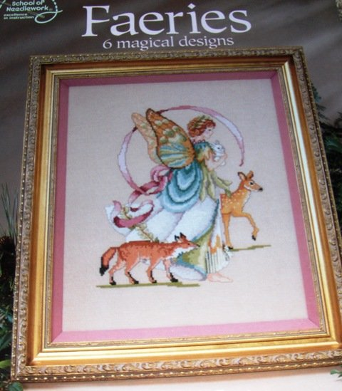 Faeries Fairies Counted Cross stitch Pattern Fairy charts American School of Needlework 6 Designs