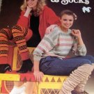 Knitting Pattern Leg Warmers, Footies and Socks Leisure Arts