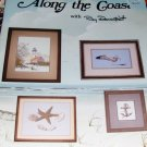 Cross Stitch Pattern Coastal Shells Lighthouse  Bait Shack Charted Designs
