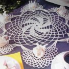 Magic Crochet No. 76 crocheting pattern magazine Feb 1992 Tablecloths Swan Doilies purse Book Cover
